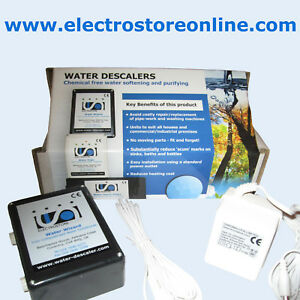 ELECTRONIC WATER CONDITIONER DESCALER SOFTENER – WIZARD (MADE IN UK)