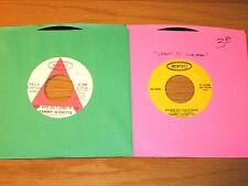 LOT OF 8 COUNTRY 45 RPMs - TAMMY WYNETTE - EPIC LABEL