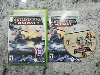 Battlestations: Midway (Microsoft Xbox 360, 2007) TESTED Free Fast Shipping