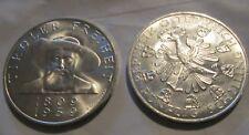 Austria 50 Schilling Silver Coin 150th Anniversary Liberation of Tyrol