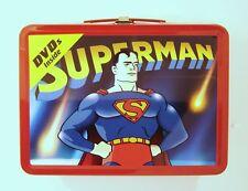 Superman  Collectors Tin Box with Classic Cartoon DVD's