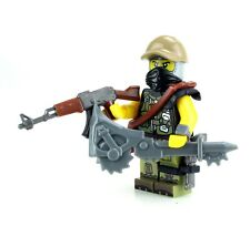 Post APOC Ranger Military Minifigure (SKU79) made with real LEGO®