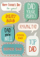 Happy Father's Day Card Best Dad Embellished Greeting Cards