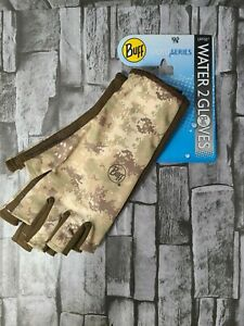 Buff Sport Series Water 2 Gloves Angler 15419 XS/S 7/8 Pixels Desert New