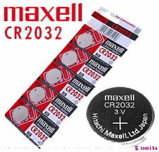 100% Original (5 PCS) CR2032 MAXELL BATTERY 3V LITHIUM BUTTON COIN CELL JAPAN