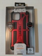 Urban Armor Gear (UAG) Monarch Series For Google Pixel 4 Case Red