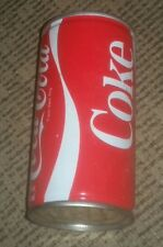 OLD Antique COCA COLA COKE TORONTO CANADA 10 oz FLAT TOP PULL TAB SODA POP CAN