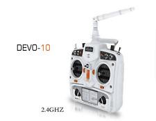 Walkera DEVO 10 10CH 2KM 2.4Ghz Telemetry Function RC Transmitter White