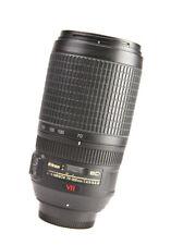 Nikon AF-S 70-300mm F4.5-5.6 G VR ED AF Nikkor Zoom Lens + Rear Lens Cap
