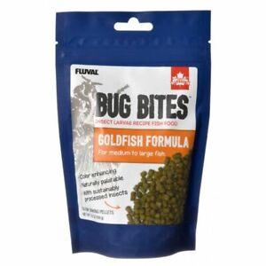 LM Fluval Bug Bites Goldfish Formula Pellets for Medium-Large Fish (3.53 oz)