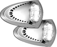 New Led Docking Lights attwood Marine 6522ss7 Stainless Steel Housing