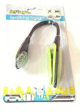 NEW Portable Clip on Reading Light Lamp avid book reader