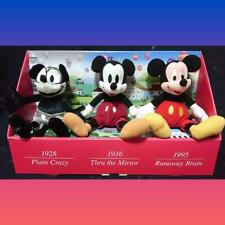 Collector's Item Mickey Plush Disney Memorial 2001 w/Tracking#F/S