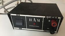 VINTAGE HAM RADIO POWER SUPPLY HAM INTERNATIONAL MODEL HS 25