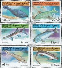 Sahara  gestempeld 1999 Vis