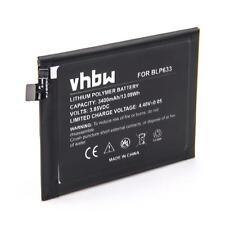 Bateria 3400mAh Li-Po para OnePlus 3T, 3T Dual Sim, A3010, Rain, BLP633