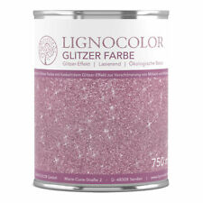 Lignocolor Glitzerfarbe für Wände und Möbel Glitzereffekt