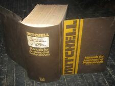 1970-75 Mitchell Mechanical Service Repair Imported Cars Truck Vol 1 Early Model