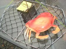 "Dual- Purpose Crab TRAP  BEST Folding Crab Traps.20""x15"" U S Manufactured"