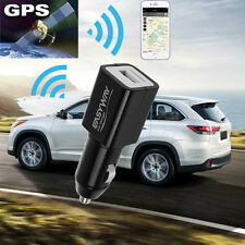 Car Charger Tracker Mini SPY Vehicle GSM GPRS GPS Locator Real Time Tracking HRM