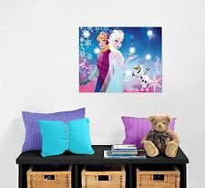 "New Disney Frozen Led Wall Canvas 15.75"" W X 11.5"" H Anna Elsa Olaf Easy Mount"