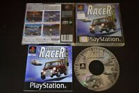 London Racer Game PlayStation One PS1 Good Condition Manual Incl UK PAL