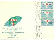Ethiopia 1969 Red Cross SG720-722 FDC