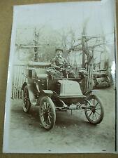 rare photographie originale  automobile tacot vers 1900 pierre leger albertville