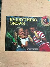 Teacher Big Book EVERYTHING GROWS Kindergarten 1st RAFFI SONGS TO READ