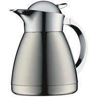 Alfi Thermokanne Albergo Isolierkanne Kaffeekanne doppelwandig, Edelstahl, 0.6l