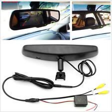 Electronic Rear View Mirror Monitor w/ Sensor Sense the Brightness Auto Switch