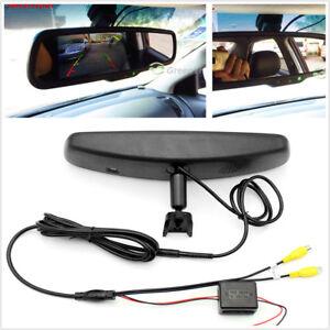 Electronic Rear View Mirror Monitor w/ Sensor Sense the Brightness Auto Switch
