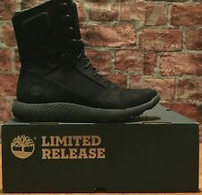 TIMBERLAND LIMITED RELEASE FLYROAM TACTICAL LEATHER BOOTS BLACK TB0A1NK5 SIZE 13