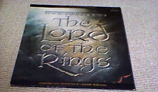 LEONARD ROSENMAN THE LORD OF THE RINGS OST G/F 2LP RALPH BAKSHI J.R.R. TOLKIEN