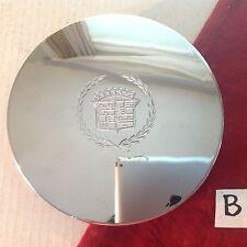 #B  2000 - 2005 Cadillac Deville Chrome Small Emblem OEM Center Cap P/N 9593259