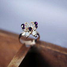 Women Butterfly Set Cute Simple Style Stack 3pcs/set Midi Finger Ring Band