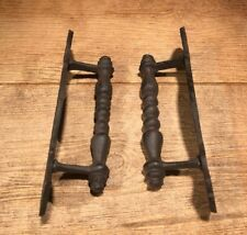 "LARGE CAST IRON DOOR PULL HANDLES 9"" (Set of 2) Home Decor Supplies 0184J-10330"