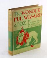 First Edition 2nd State 1900 The Wonderful Wizard of Oz L Frank Baum W W Denslow