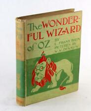 First Edition 2nd State 1900 The Wonderful Wizard of Oz L Frank Baum W W Denslow