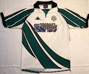 Colorado Rapids 1999-2000-2001 Kappa USA Football  Soccer Shirt Jersey Size Xl