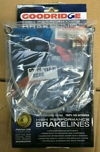 Yamaha R1  98-01 Goodridge Front Brake Line Kit Complete With Fittings