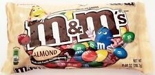 NEW Sealed Almond Chocolate M&M's 9.90 oz Bag FREE WORLDWIDE SHIPPING IN A BOX