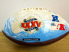 LIMITED EDITION FOOTBALL - COMMERATIVE - SUPERBOWL XXXV - Tampa FLORIDA  2001