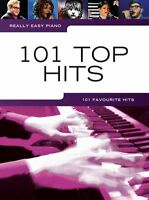 Really Easy Piano Top CHART POP Hits Learn to Play Beginner KEYBOARD Music Book