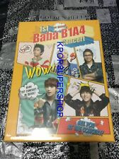 B1A4 1st Concert Baba In Seoul 3DVD Photobook First Press Limited New Seal KPOP