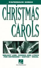 Christmas Carols Paperback Songs Sheet Music Paperback Songs NEW 000240142