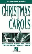 Christmas Carols Paperback Songs Sheet Music Paperback Songs NEW 000240142