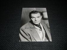 James Mason (+ 1984) signed autógrafo en 13x18 cm cm imagen Look