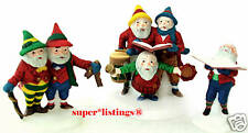 Dept. 56 Sing A Song For Santa Set of 3 Retired 1998 North Pole 56316 New