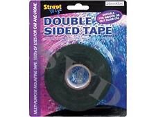 Black Double Sided Tape multi-purpose mounting Tape 1mm x 25mm x 5m Waterproof